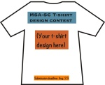 MSA-SC T-shirt contest for students